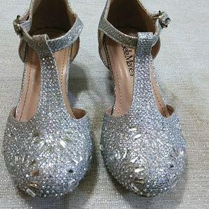 Bella Marie Crystal Mini Girls heels